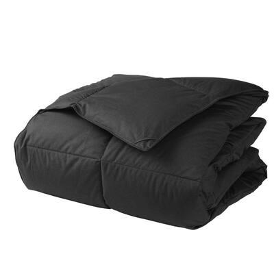 LaCrosse LoftAIRE Medium Warmth Charcoal Gray Full Down Alternative Comforter