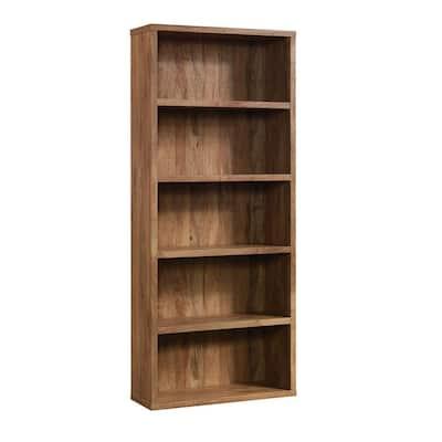 Select 72.717 in. Sindoori Mango 5-Shelf Standard Bookcase