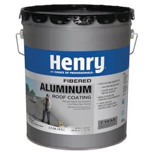 4.75 Gal. Premium Fibered Aluminum Reflective Roof Coating