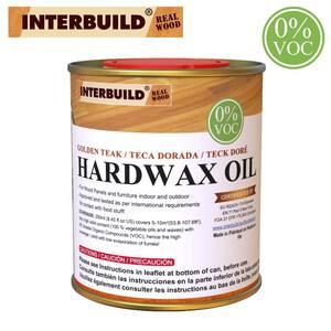 8.5 fl. oz. Matte Golden Teak Interior Hardwax Wood Oil Stain