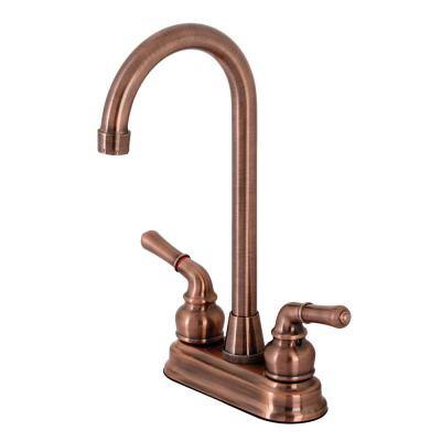 Magellan 2-Handle Bar Faucet in Antique Copper