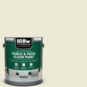 1 gal. #780C-2 Baked Brie Low-Lustre Enamel Interior/Exterior Porch and Patio Floor Paint