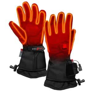 Men's XX-Large Black 5V Premium Heated Gloves
