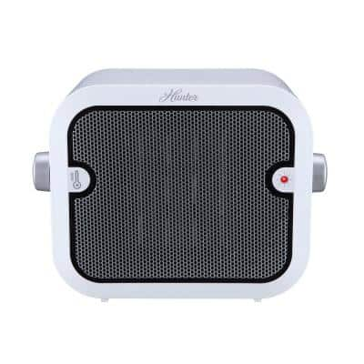 1,500-Watt Electric Personal Ceramic Space Heater with Adjustable Thermostat