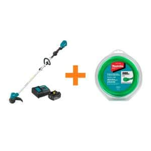 18-Volt LXT Lithium-Ion Brushless Cordless String Trimmer Kit with bonus 0.080 in. x 175 ft. Twisted Trimmer Line