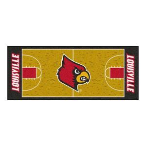 University of Louisville 3 ft. x 6 ft. Basketball Court Runner Rug