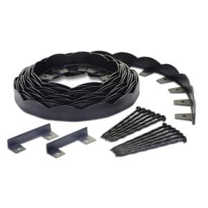 No-Dig 40 ft. Scallop Top Edging Kit
