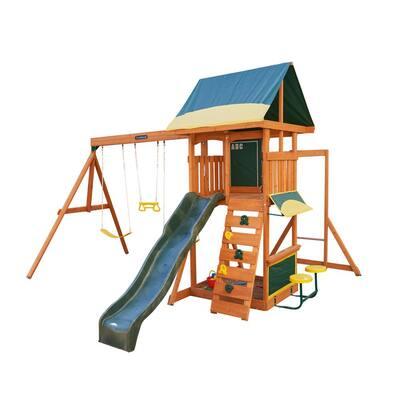Brightside Wooden Playset/Swing Set