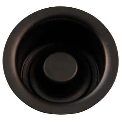 Extra-Deep Disposal Flange and Stopper in Oil Rubbed Bronze