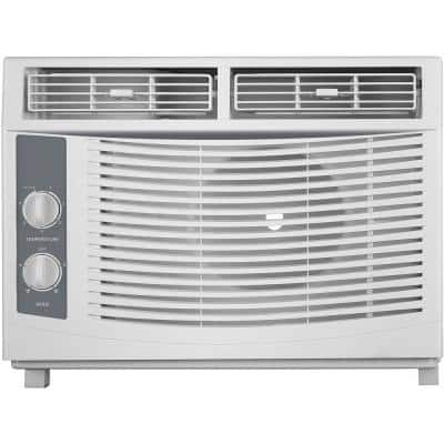 150 sq ft 5000 BTU Window Air Conditioner with Mechanical Controls in White, 1AW5000MSA, 115V
