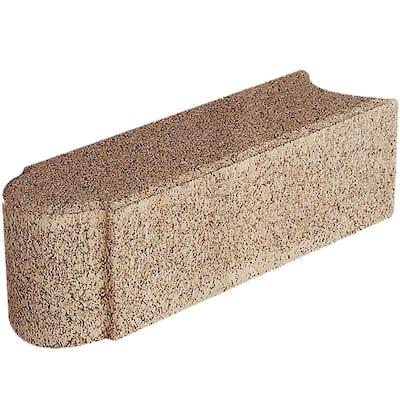 Edgestone 12 in. x 3.5 in. x 3.5 in. San Diego Tan Concrete Edger (288 Pieces/282 Linear Ft./Pallet)