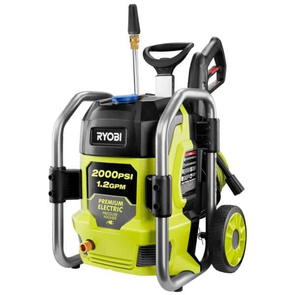 2000 PSI 1.2 GPM Cold Water Electric Pressure Washer