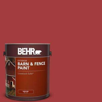 1 Gal. Red Barn and Fence Exterior Paint