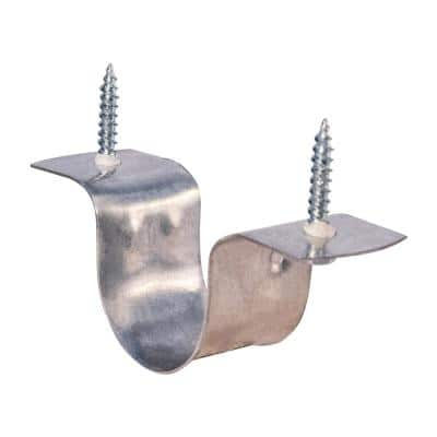 3/4 in. CPVC 2-Hole Pipe Strap in Galvanized Steel
