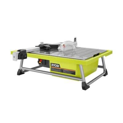 0.75 HP 7 in. 4.8 Amp Tabletop Tile Saw