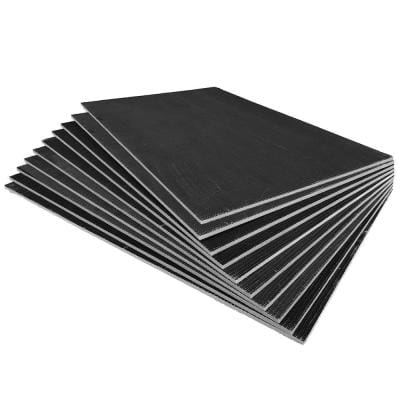 2.67 ft. x 4 ft. x 1/2 in. XPS Foam Waterproof Backer Board Underlayment for Wall Tile and Stone (10-Pack)