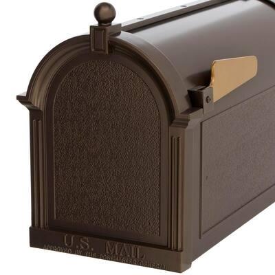 Streetside Mailbox in French Bronze
