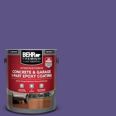 1 gal. #P560-7 Kings Court Self-Priming 1-Part Epoxy Satin Interior/Exterior Concrete and Garage Floor Paint