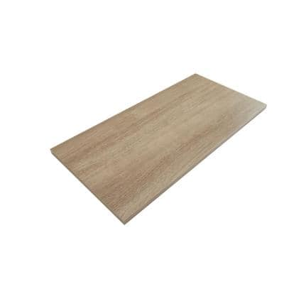 Organic Ash Laminated Wood Shelf 12 in. D x 72 in. L