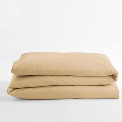 Legends Luxury Dot Topaz Cotton Sateen Oversized Queen Duvet Cover