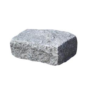 Cobblestone 10 in. x 7 in. x 4 in. Granite Gray Edger Kit (50 pieces per pallet)