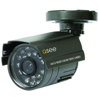 Non-Operational Indoor/Outdoor Decoy Bullet Security Camera
