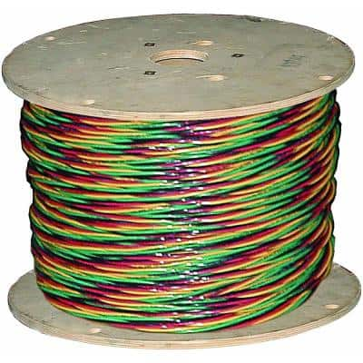 1,000 ft. 12/3 Solid CU W/G Submersible Well Pump Wire
