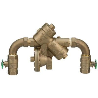 1 in. 975XL2 Reduced Pressure Principle Backflow Preventer with Street Elbows