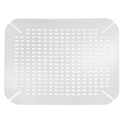 Contour Sink Mat in Clear