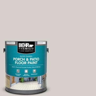 1 gal. #T16-19 Bowstring Gloss Enamel Interior/Exterior Porch and Patio Floor Paint