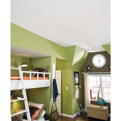 Sand Pebble 1 ft. x 1 ft. Clip Up or Glue Up Ceiling Tile (1,920 sq. ft. / pallet)