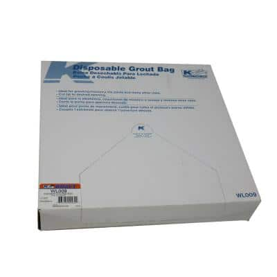 Disposable Grout Bags (50-Pack)