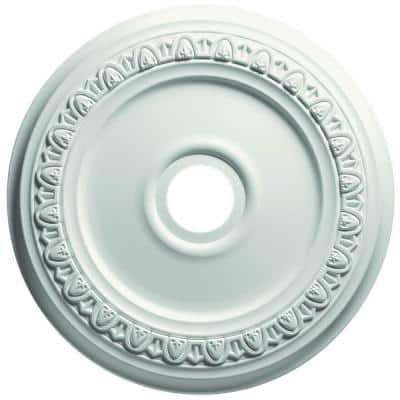 13 in. Egg and Dart Ceiling Medallion