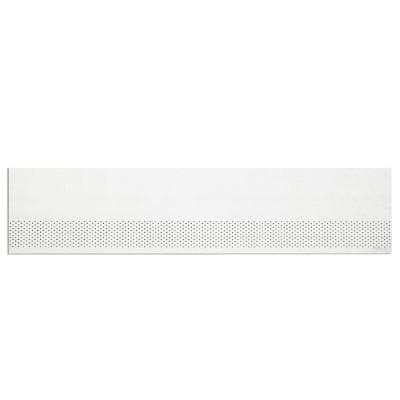 HardiSoffit 24 in. x 96 in. White Cement-Fiber Vented Smooth Primed Soffit