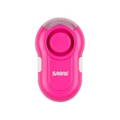 Personal Alarm with Clip and LED Light