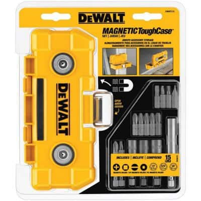 Magnetic Tough Case Set with 15 Accessories