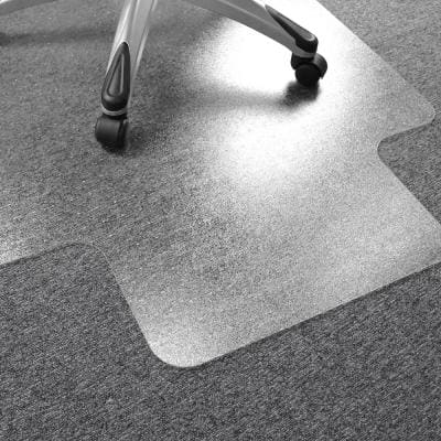 Ultimat® Polycarbonate Lipped Chair Mat for Carpets over 1/2 in. - 35 x 47 in.