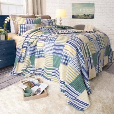 Lynsey 2-Piece Yellow Twin Quilt Set