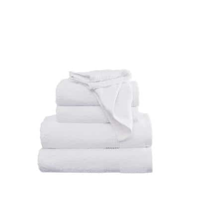 Antimicrobial 6-Piece White Towel Set