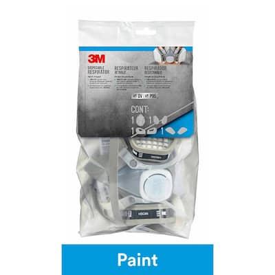 Medium Disposable Paint Project Respirator Mask