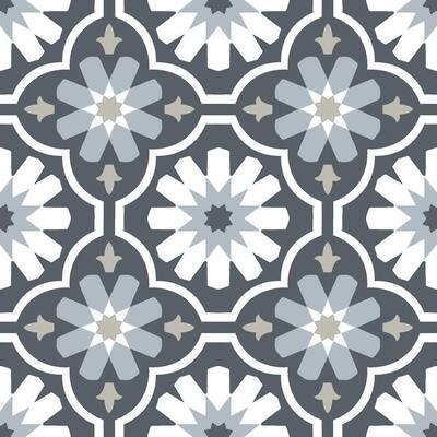 Sevilla Peel and Stick Floor Tiles 12 in. x 12 in. (20 Tiles, 20 sq. ft.)