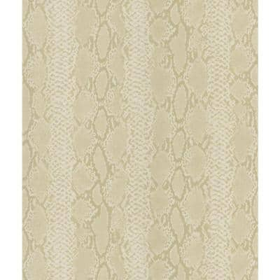 Python Snake Skin Neutrals Wallpaper Sample