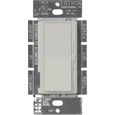 Diva 1.5 Amp Single-Pole/3-Way 3-Speed Fan Control, Palladium