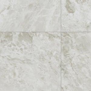 White Marble Residential Vinyl Sheet Flooring 12ft. Wide x Cut to Length