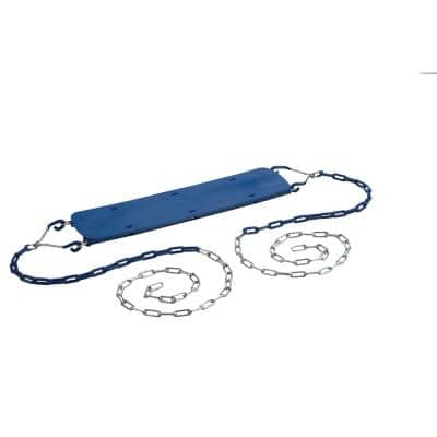 Beginner Swing Seat with Chains- Blue