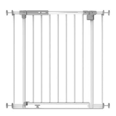 30 in. H Stellar LED Baby Gate, Safe Step and Auto Lock, Pressure Mounted