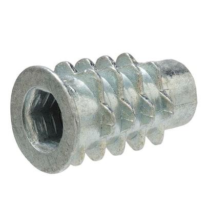 1/4 in. x 20 mm Type D Zinc Insert Nut Screw