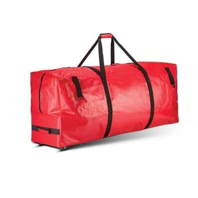 Red Heavy-Duty Artificial Tree Storage Bag for Trees Up to 7.5 ft. Tall