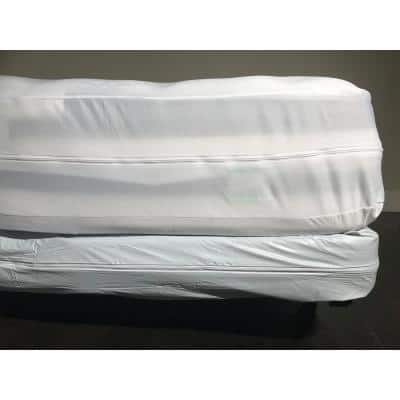Bed Bug, Vinyl, and Waterproof Queen Mattress Or Box Spring Cover