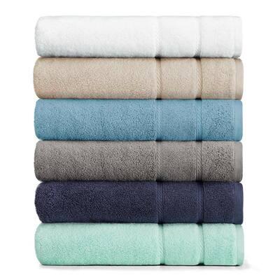 Belle Haven Solid Cotton Bath Towel Set